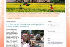 Blog Writing(http://weloveourbangladesh.blogspot.com/)