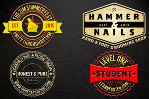 Portfolio for Badge Logo Design