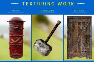 Portfolio for 3d Texture Artist/Modeler/Photo Re Touch