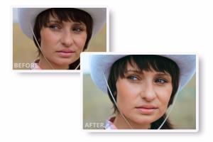 Portfolio for Photo retoucher