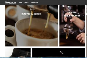 Portfolio for Word press Site For Coffee Business