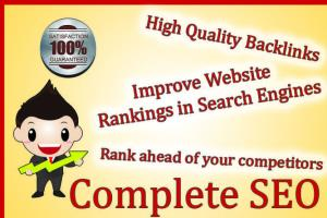 I will rank your website very high in google with best