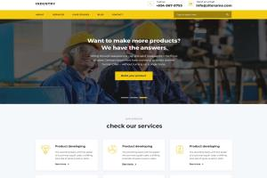 Portfolio for Cleanig Industry WordPress Theme