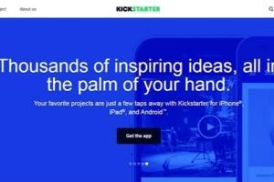 Portfolio for Kickstarter Clone Website Development
