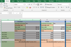 Portfolio for Expert in excel formulas and VBA