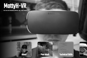 Portfolio for Web Developer | Websites, Apps, VR
