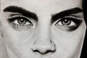 Portfolio for hyperrealistic painter