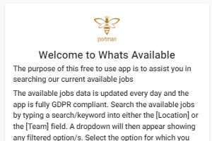 Portfolio for Web Apps