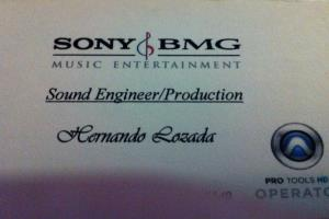 Sound Engineer/ Producer