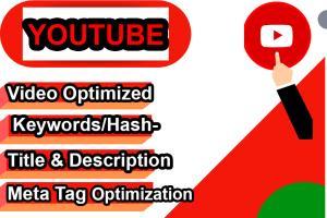 Portfolio for Youtube Keyword Research