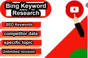 Portfolio for Bing Keyword Research