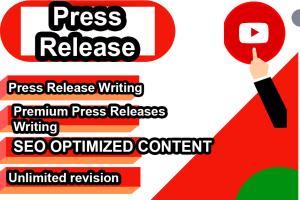 Portfolio for Press Release Writing + Distribution