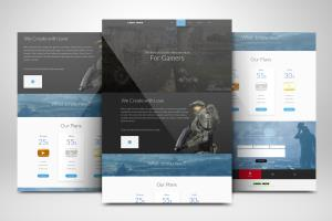 Portfolio for Custom HTML5 Websites