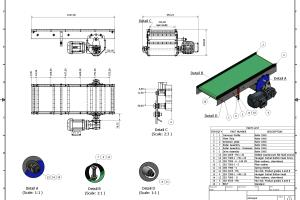 Portfolio for CAD modeling and drafting