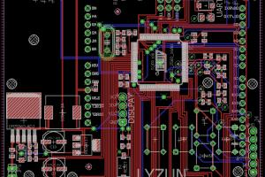 Portfolio for Developer electronics projects pcb