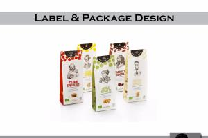 Portfolio for Label and Package Design