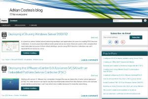 Portfolio for Microsoft and VMware Design/Engineer