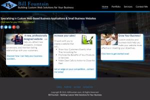 BillFountain.com - My Personal Business Website