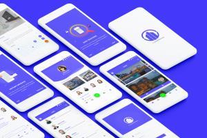 Portfolio for UI/UX Mobile design