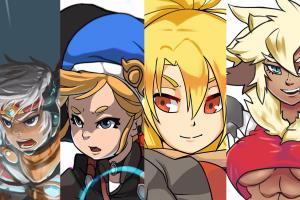 Portfolio for Anime Illustrations