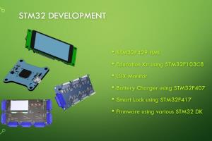 Portfolio for STM32 & ARM development
