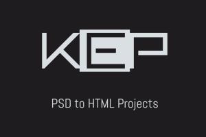 Portfolio for PSD to HTML5 Template