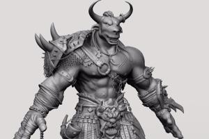 Portfolio for 3D Character modeling artist