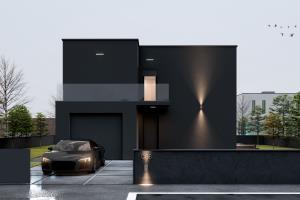 Black House - Design & Visualization