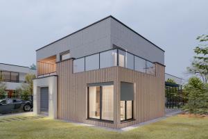 Concrete House - Design & Visualization