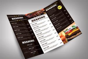 Portfolio for Menu Design