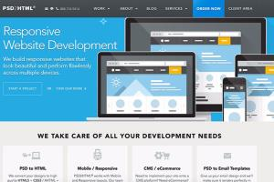 Portfolio for Psd to html with bootstrap