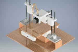 Design of a portable 3D printer