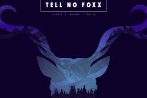 Gig poster — Tell No Foxx