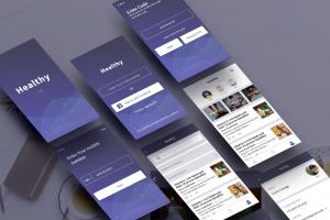 Portfolio for UI/UX Designer and Front End Developer