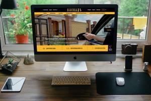 Website for 'Cascade' Company