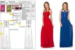 Portfolio for Fashion Design - Adobe Illustrator