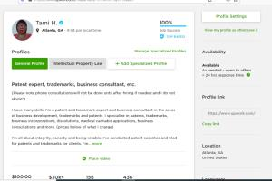 Portfolio for Intellectual property, patents trademark