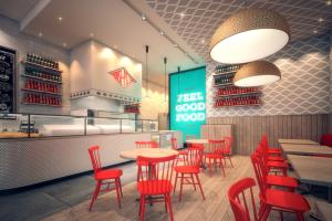 Pizza Shop 3D Interior