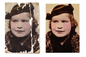 Portfolio for Damaged / aged Photo Restoration