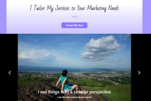 Portfolio for I create responsive and interactive web