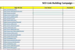 Portfolio for SEO LINK BUILDING