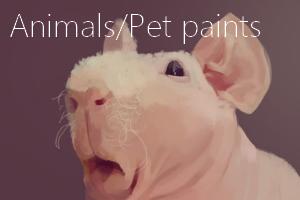 Portfolio for Digital art for Animals/Pets
