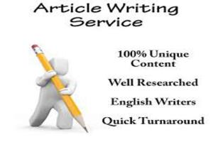 Portfolio for Article writing and blog posts