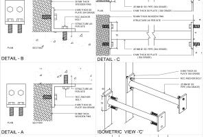 Portfolio for Construction/ working  drawing