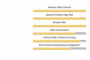Portfolio for amazon listing SEO & amz keyword rank