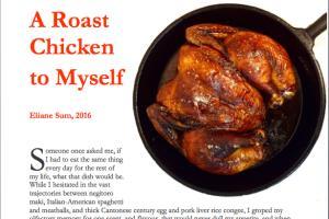 Portfolio for Recipe Developer and Food Writer