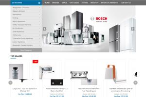 Portfolio for eCommerce - Home Appliance