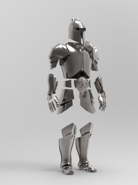 3D Model of an armor set from World of Warcraft by Dmitry