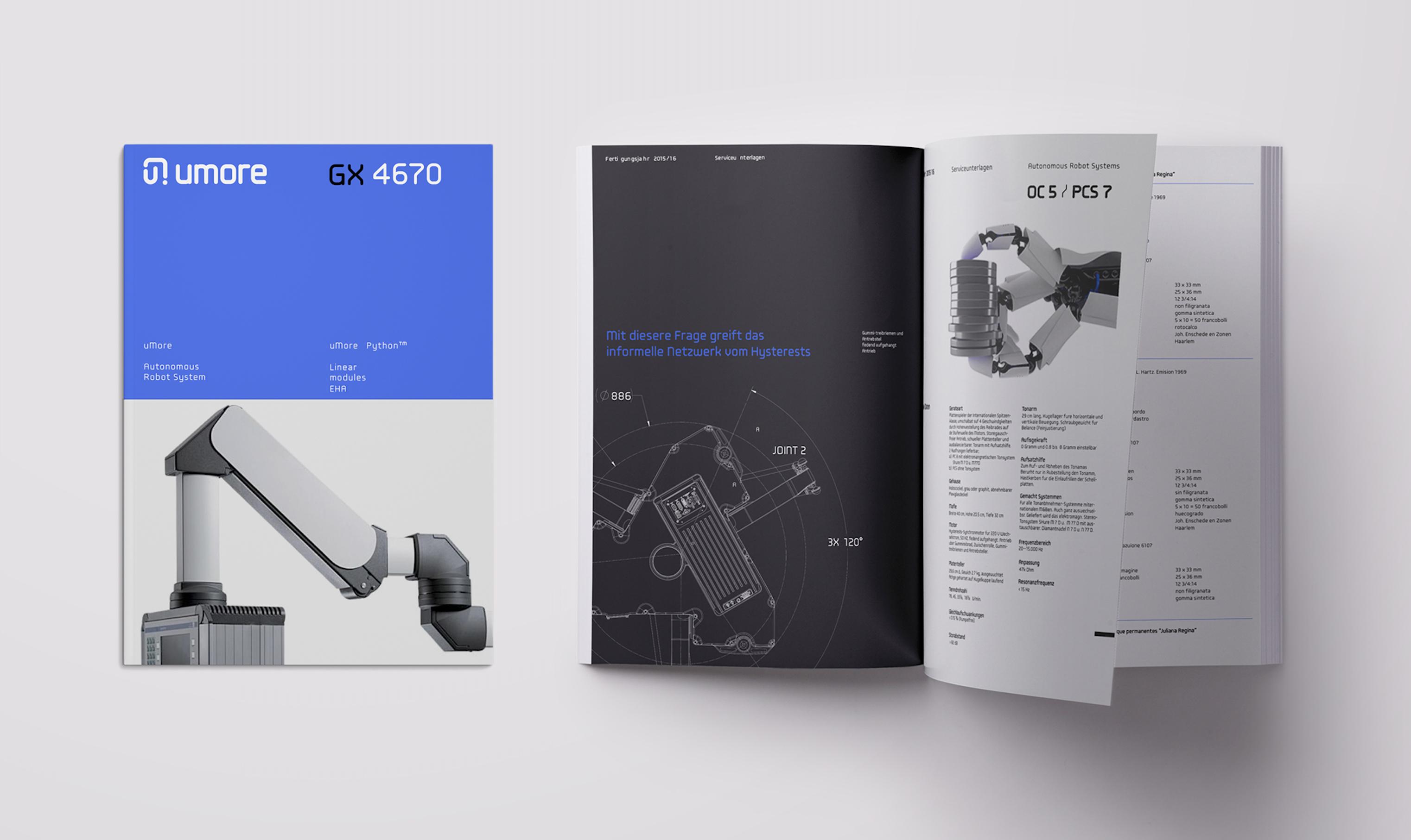Umore Robotics Brochure By Buro Orangensaft 493271 Freelancer On Guru