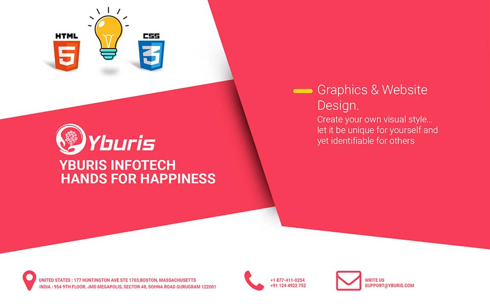 banner design by Yburis Infotech Pvt  Ltd  542455 - Freelancer on Guru